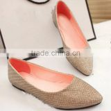 popular shoes women flat shoes newest designs CP6852
