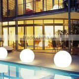 12cm Remote control colorful light Pool Floating Light Led Ball/Christmas decoration shining ball