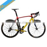EN Quality 695 all color available UD weave chinese carbon road bike frame fit 700C wheels size