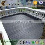 cheap quick white gray disreessed solid outdoor synthetic cork bamboo wood composite floor