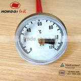 25mm,34mm pen type probe type bimetal thermometer for coffee