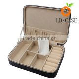 Leather Watch Box Jewelry Case and Piece Eyeglasses Storage case and Sunglass Glasses case