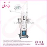 19 in1 multifunctional RF Vacuum Microcurrent LED Photon Microdermabrasion Hot&Cold Hammer