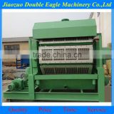 rotary type big capacity paper pulp moulding production line / fruits paper tray making line / paper mask moulding machine