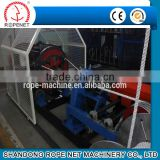 top quality 3 strands sisal twisting rope making machine with good performance from ROPENET