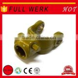 Most popular products Agriculture PTO Drive Shaft Splined Yoke with double push pin, drive shaft parts