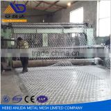 Woven into double stainless steel gabion basket