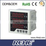 2014 newest analog computation 96 type three phase amper&volt&frequency combined meter