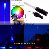 wholesale plug and play bluetooth RGB led lighted safety whips flag