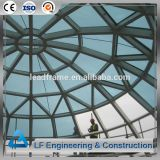Light Steel Structure Building Roof  Glass Dome