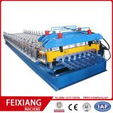 FX828 Glazed roof sheet embossing machine