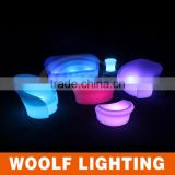 Popular Modern led bullet shape furniture