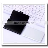 customed made logo Aluminum card case,stainless steel card case for wholesale