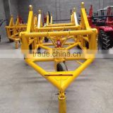 China 10T Hydraulic Cable Drum Trailer best seller / 3-10T cable reel laying Tools Manufacturer