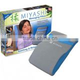 Vibration Heated Massage Back Pad With Timer, Optional Heating, 6 Vibrating Massage Modes and 5 Speeds