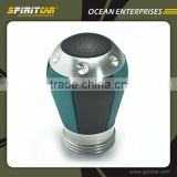 Aluminium Alloy Scania Gear Shift Knob with Genuine Leather