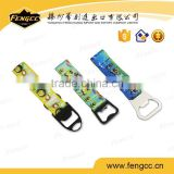 Fashion promotion polyester lanyard with bottle opener