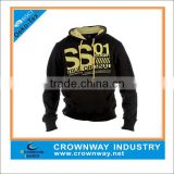 Mens Polyester Dri Fit hoodies and sweatshirts with custom print