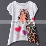 girls brand new jumping beans cartoon t shirts kids cute deer pattern tops
