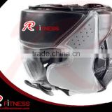 Black Boxing Helmet/ Head Guard/ Boxing Headgear