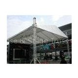 Recycling Aluminum Stage Roof Truss Spigot Display Lift Tower Suit Easy Install 12m - 30m