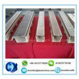 Polymer concrete drain channel