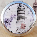 Dubaa Fashion Craft Compact Mirror/ Small Cosmetic Mirror/ Metal Pocket Mirror