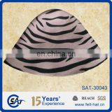 striped printed wool hat body