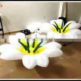 Manufacturer Price Inflatable Wedding Decoration Flower Chain LED Light Flower Hanging On Sale