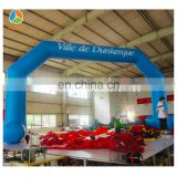 Inflatable Promotion Arch for sale , Giant Inflatable blue Arch