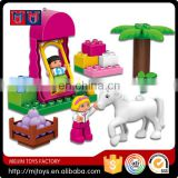 2016 Lovely series princess building block toy set in 117 pcs for kids educational toys