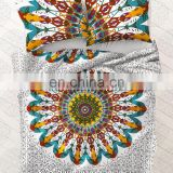 Queen Size Indian Mandala Decor Duvet Cover Bedding Throw Donna Cover With Pillow Cover