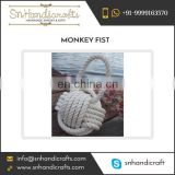 Premium Quality Durable Monkey Fist Nautical Rope Keychain Available for Sale