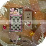 2013 Custom Mobile Phone Rhinestone Sticker