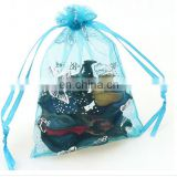 small drawsting organza bag, fabric printing pouch, personalized organza bags