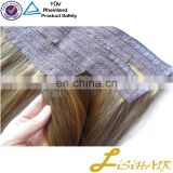 China Supplier Full Cuticle Russian Wholesale Halo Hair Bow Extension