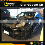 MS carbon fiber body kit for porsch-e cayenn-e 958 2011-2014