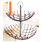 2tier metal fruit baskets kitchen racks /holder  good quality and a  Reasonable price