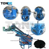 High efficiency tire shredder waste tyre recycling rubber powder machine tyre recycling plant