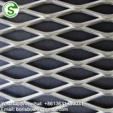 Decorative aluminum screen window security mesh