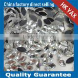 china DMC silver factory oval DMC iron on silver,iron on DMC silver oval for jewerly wedding dress