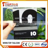 Full color printing paper magnetic stripe card for Christmas gift