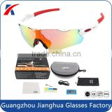 Outdoor Activity Protective Eyewear Interchangeable Polarized Sport Sunglasses 5 lens                                                                         Quality Choice