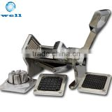 stainless steel manual fruit and vegetable cutter