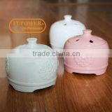 Hot selling Chinese Craftmanship ceramic ELECTRIC AROMATHERAPY ESSENTIAL OIL BURNER/DIFFUSER