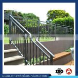 Cheap Price Welded Aluminium Handrail Profiles for Outdoor Metal Stair Railing