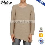2016 Custom Wholesale Mens Taupe Knit Sweatshirts
