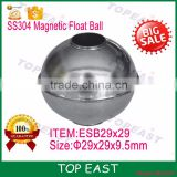 Magnetic Stainless Steel Float Ball Floating Switch Accessories29x29x9.5 MM float ball valve