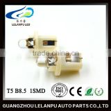 factory price hot sale auto interior led lights 12v T5 B8.5 auto led Air condition indicating lamp