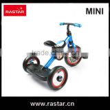Rastar china factory BMW MINI licensed 3 wheel kid toy bike bicycle